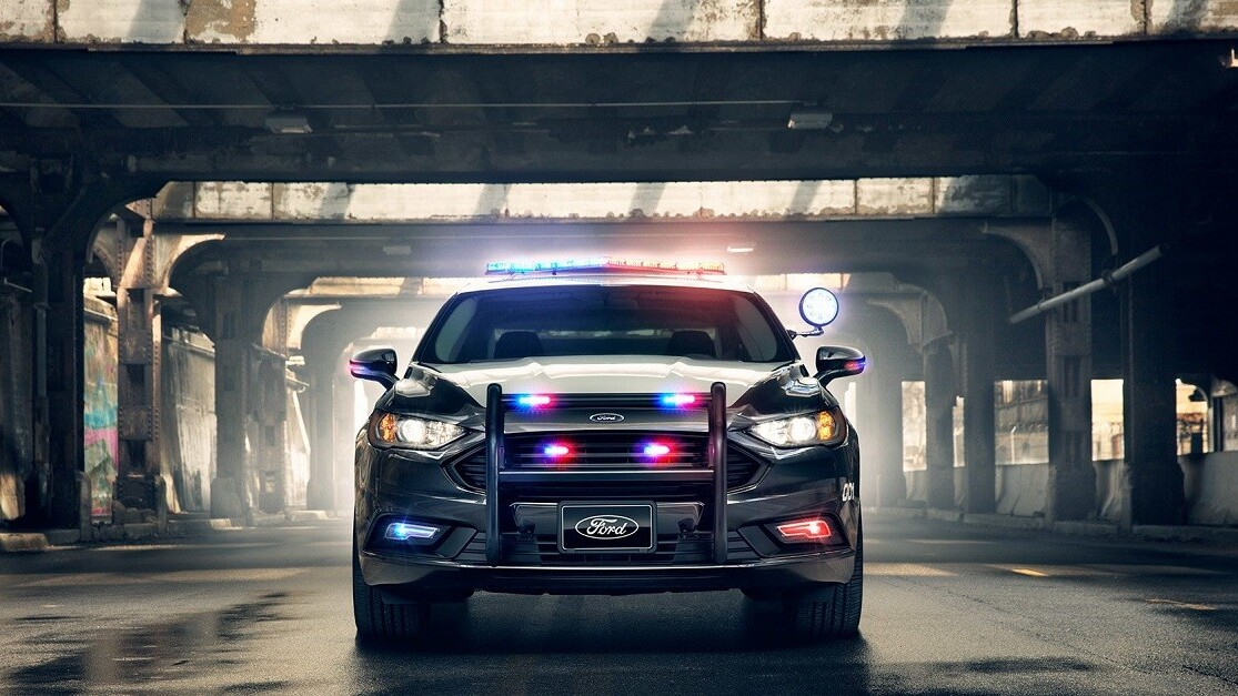 Ford's vision for driverless police cars offer zero chance to flirt your way out of a ticket