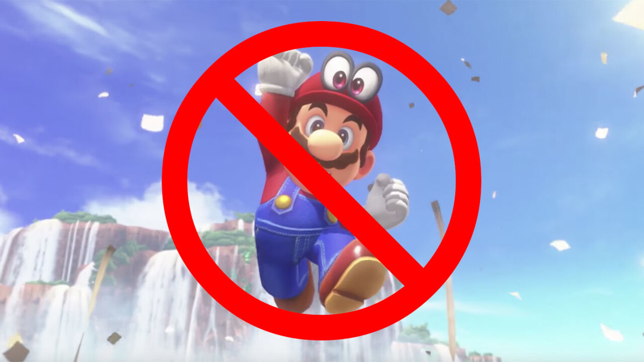 Watch a madman beat Super Mario Odyssey without 'jumping'