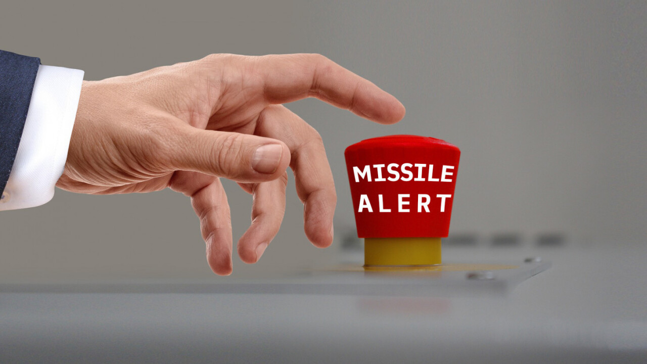 Hawaii's missile alert fiasco highlights the importance of good interface design