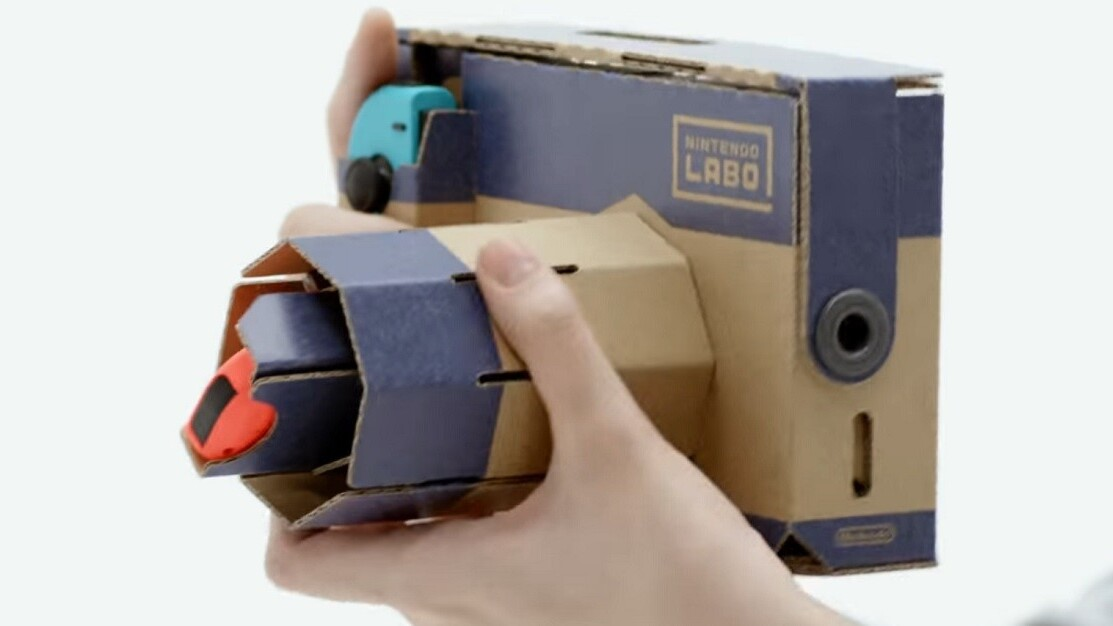 Labo is Nintendo's next big risk that looks poised to pay off