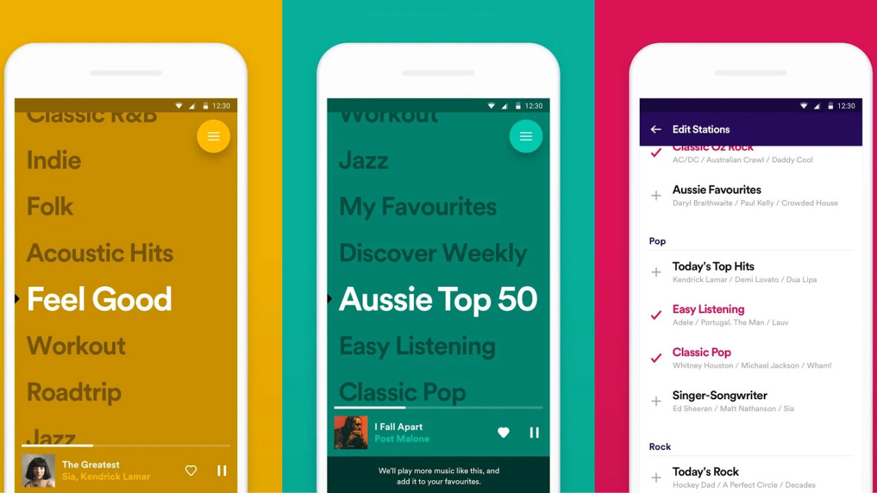 Spotify launches a new free app for streaming its own curated playlists