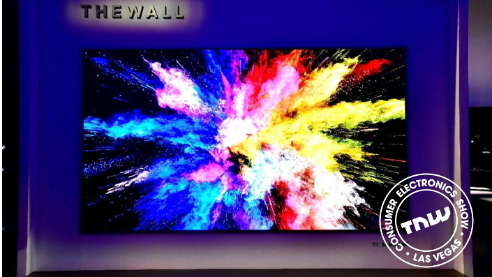 """Samsung unveils monstrous 146-inch modular MicroLED TV dubbed """"The Wall"""""""