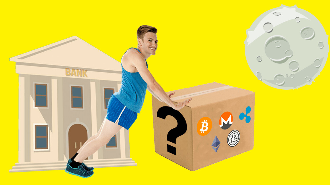 We got a cryptocurrency mystery box so you don't have to