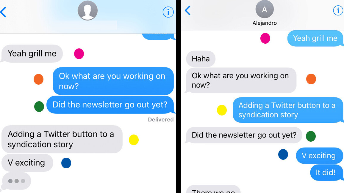 Yes, Apple's iMessage is totally screwing up the order of your texts