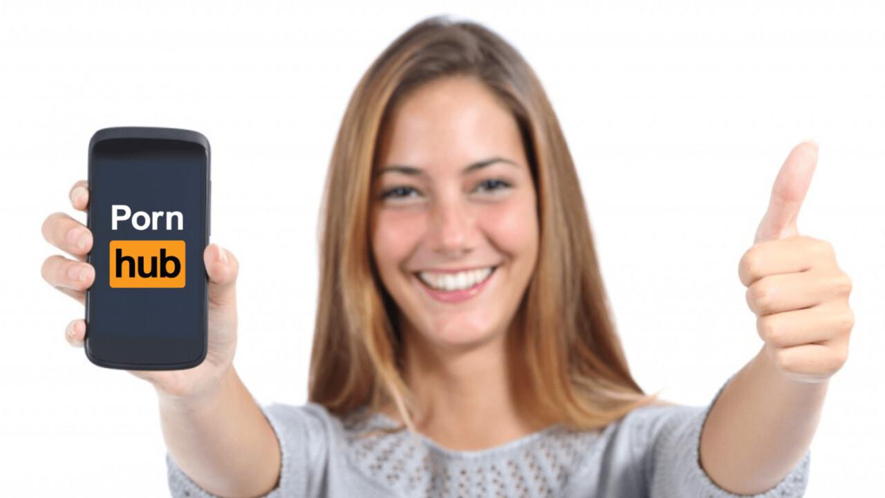 Pornhub data shows phones are our new masturbation stations