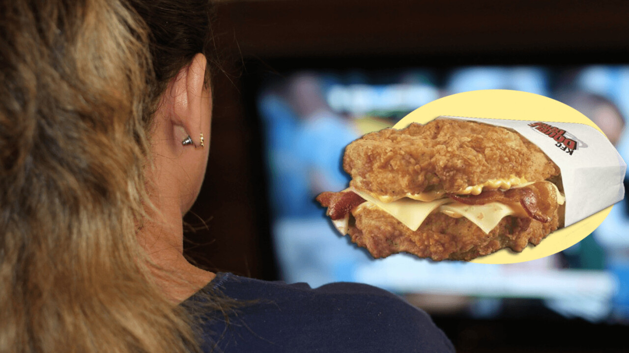 Study shows TV ads are responsible for your growing waistline