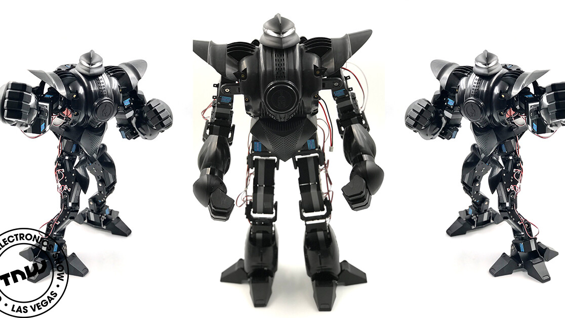This pint-sized battle robot packs enough power to knock you out