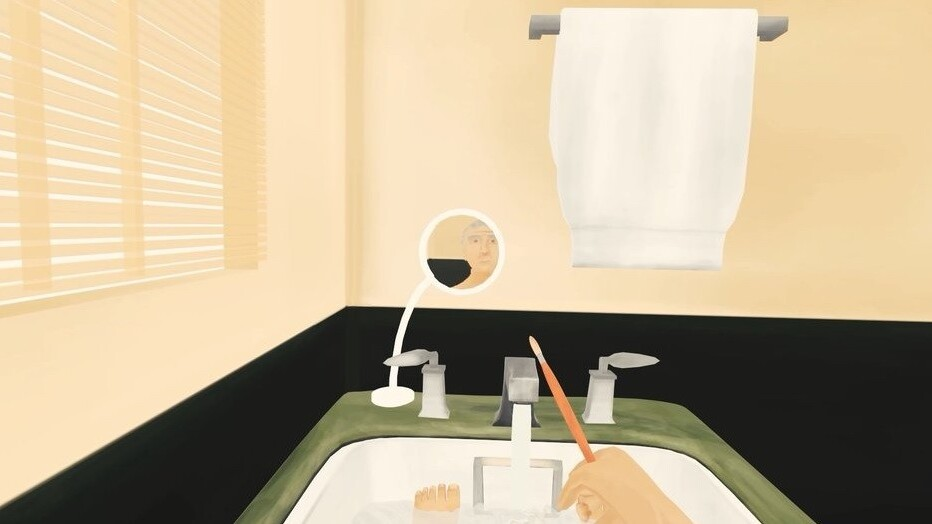 Someone made a VR experience where you're George W Bush in a bathtub