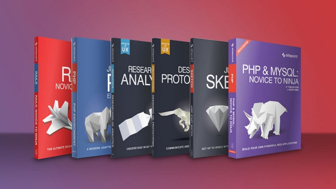 Get a complete web development education for less than $5 per e-book