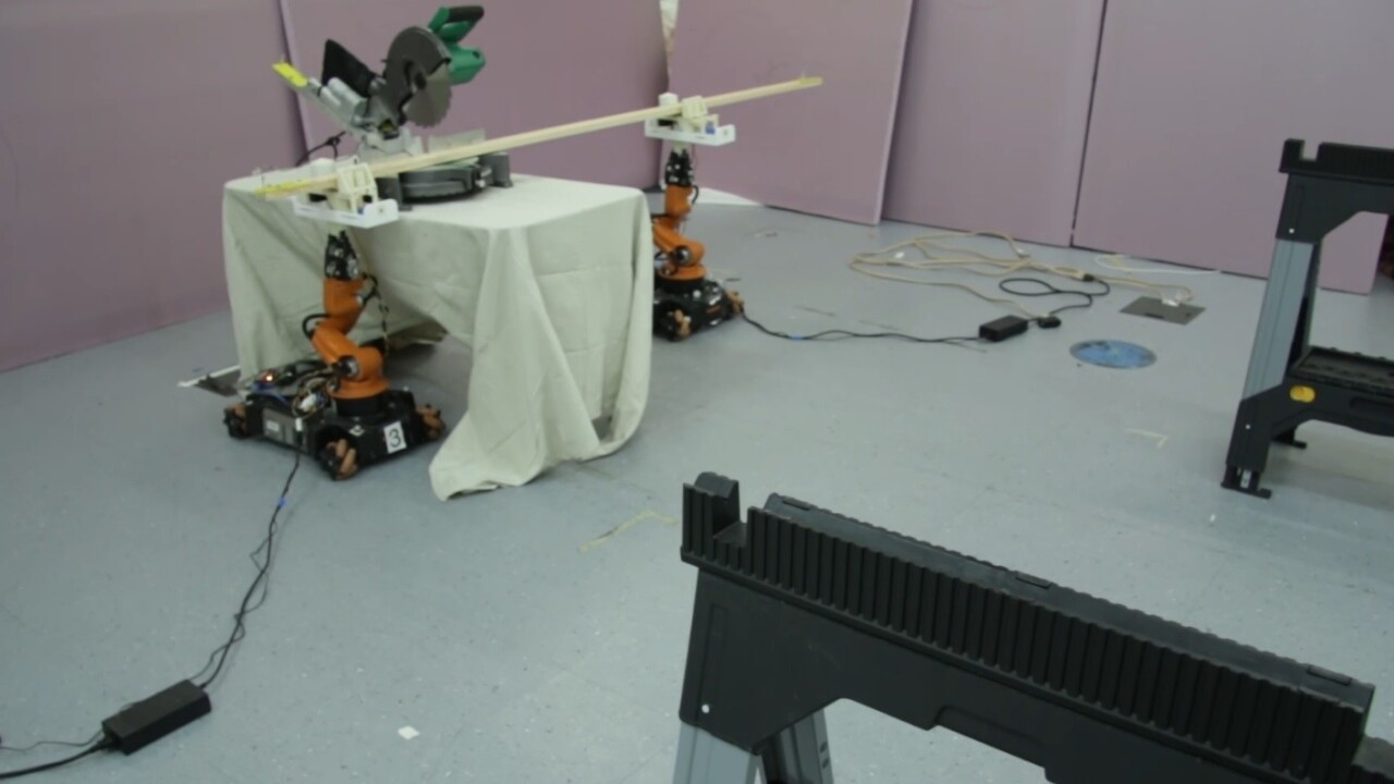 MIT turned old robots and a Roomba into AI-powered carpenters
