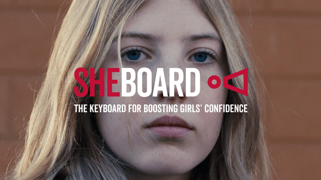This virtual keyboard wants people to rethink the language used to describe girls