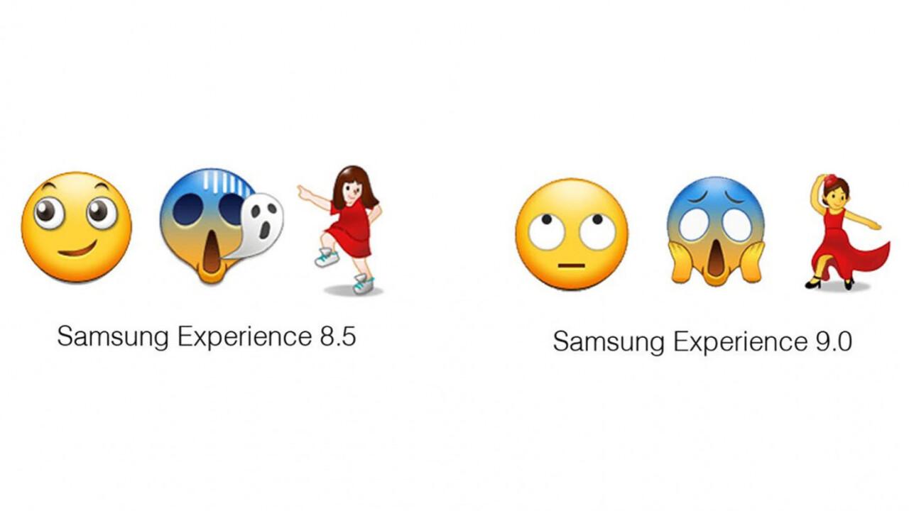 Samsung finally fixed its terrible emoji in Android Oreo