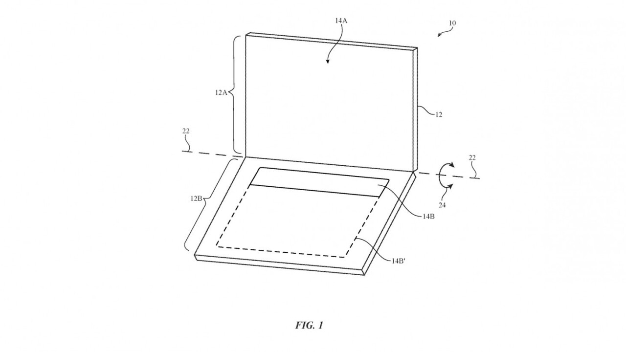 Apple patent details dual display laptop with no physical keyboard
