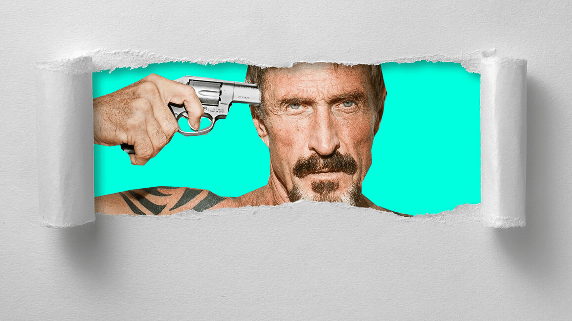 John McAfee has a new business: writing white papers for crappy ICOs