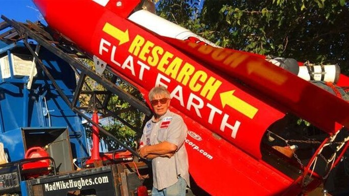 Rocket man can't get it up: Proof of a flat Earth still eludes
