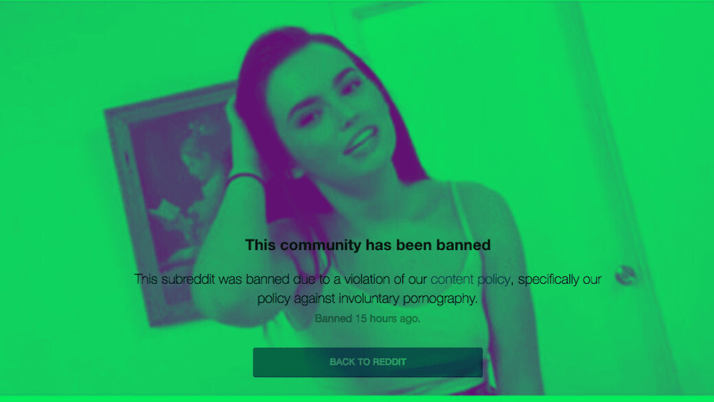 Reddit bans Deepfakes community that made AI-generated celebrity porn