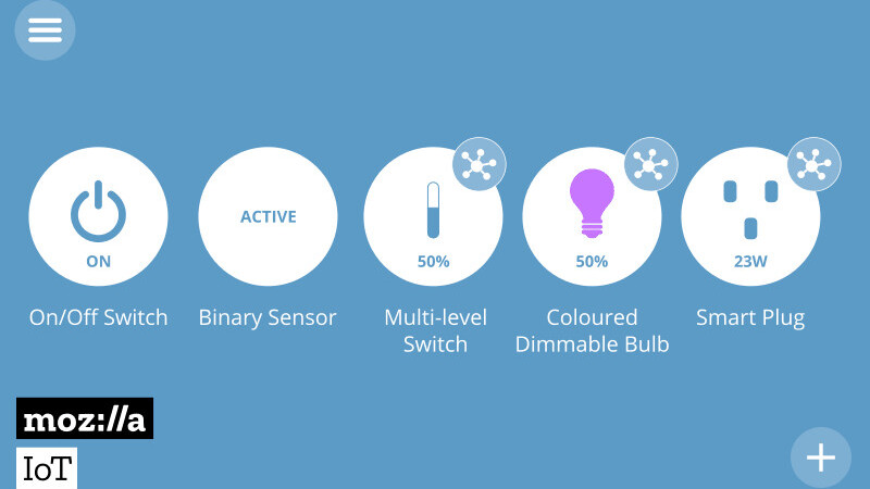 Mozilla's new Things Gateway is an open home for your smart devices