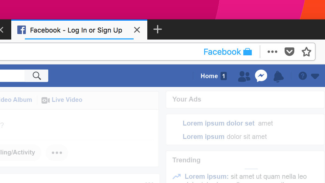 Prevent Facebook from tracking you all over the web with this Firefox extension