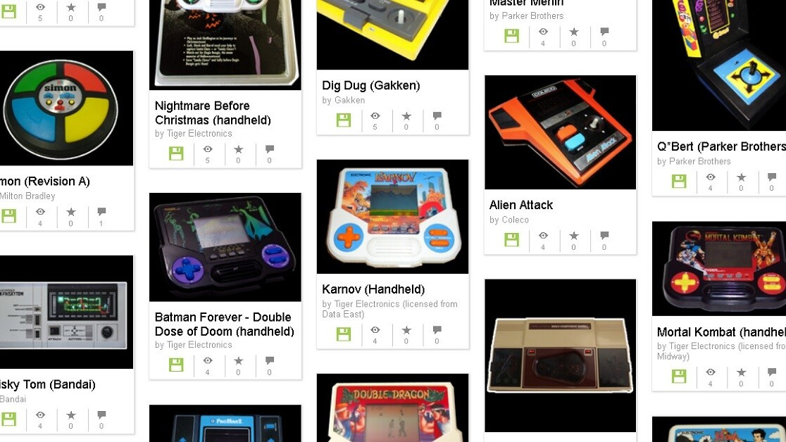 Internet Archive emulator brings dozens of handheld games back from obscurity
