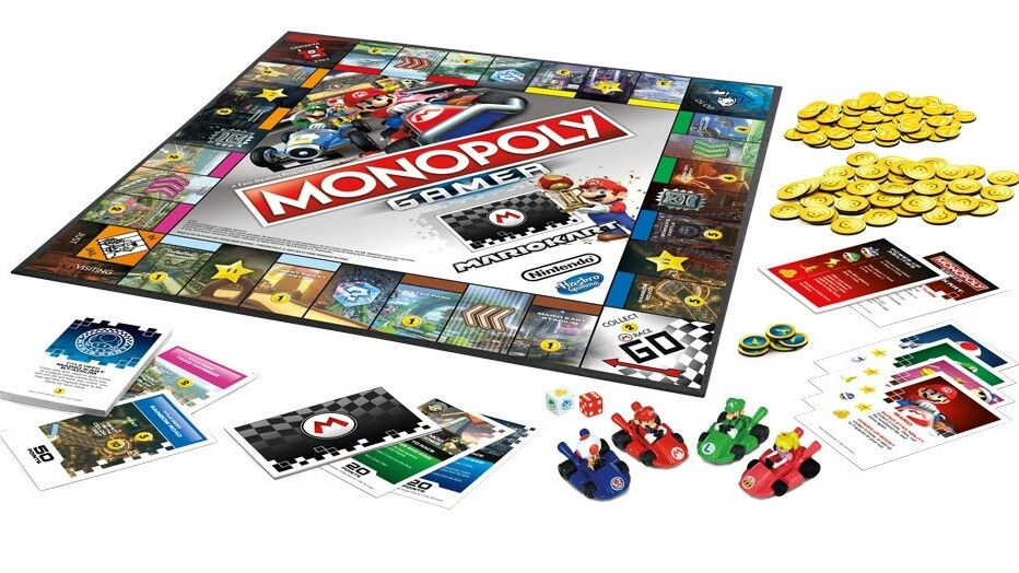 Mario Kart and Monopoly don't belong together