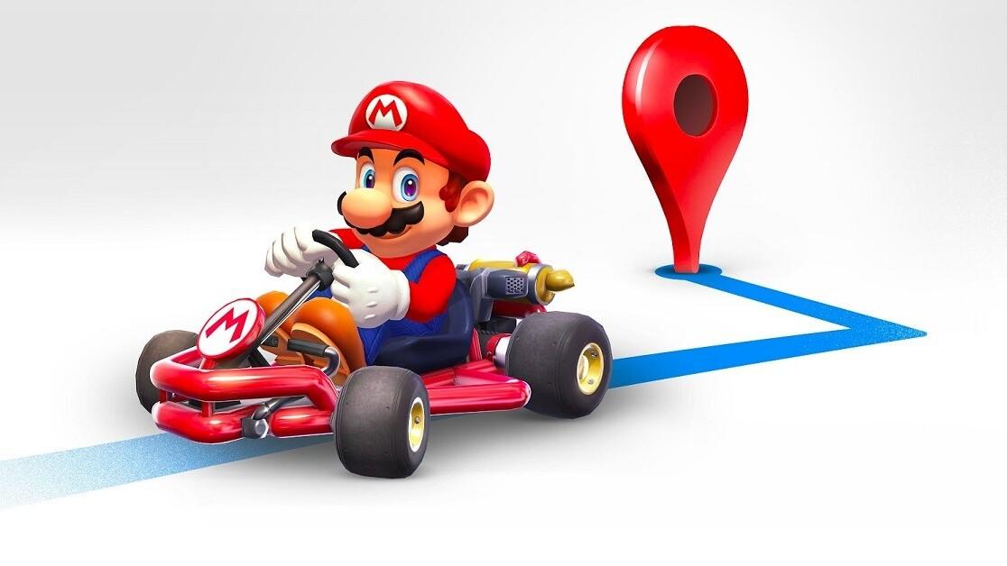 Google brings Mario Kart to Maps to celebrate MAR10