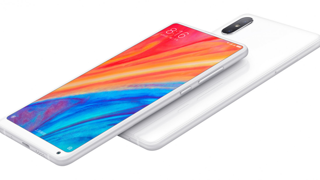 Xiaomi's powerful Mi Mix 2S is both bezel-less and notch-less