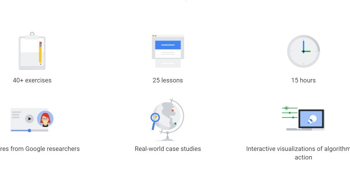You can take Google's Machine Learning Crash Course for free now