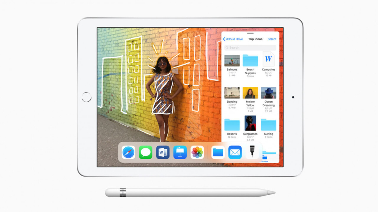 Apple announces $329 iPad with Pencil support to take on Chromebooks