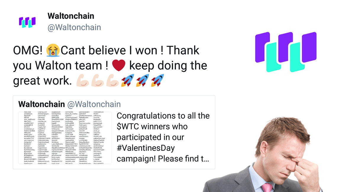 Cryptocurrency Waltonchain rewards employee in user giveaway and outs itself on Twitter