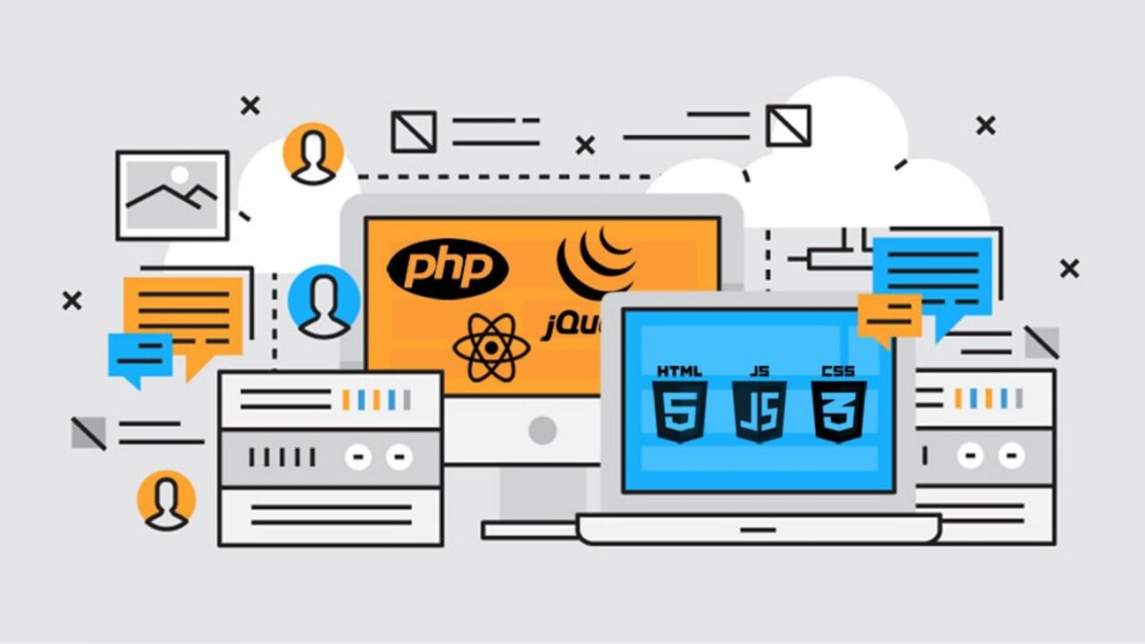 Train as a full stack web developer, and learn at your own price