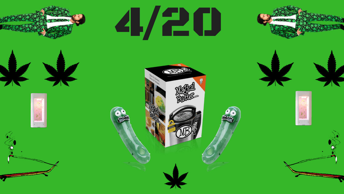 HO£IDA¥ GUID€$: Weird weed products to buy on 4/20
