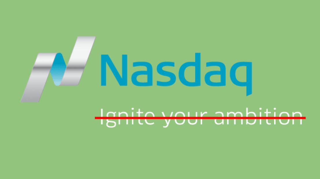 Why Nasdaq's interest in cryptocurrencies doesn't mean anything — yet