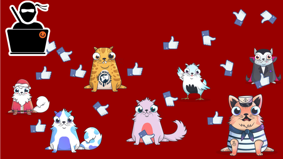 Cryptokitties had a glitch that allowed for unlimited automatic likes