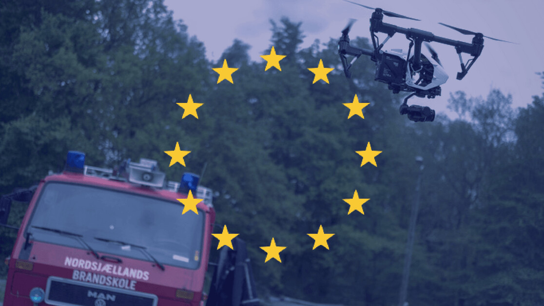 DJI launches a new emergency drone program in Europe