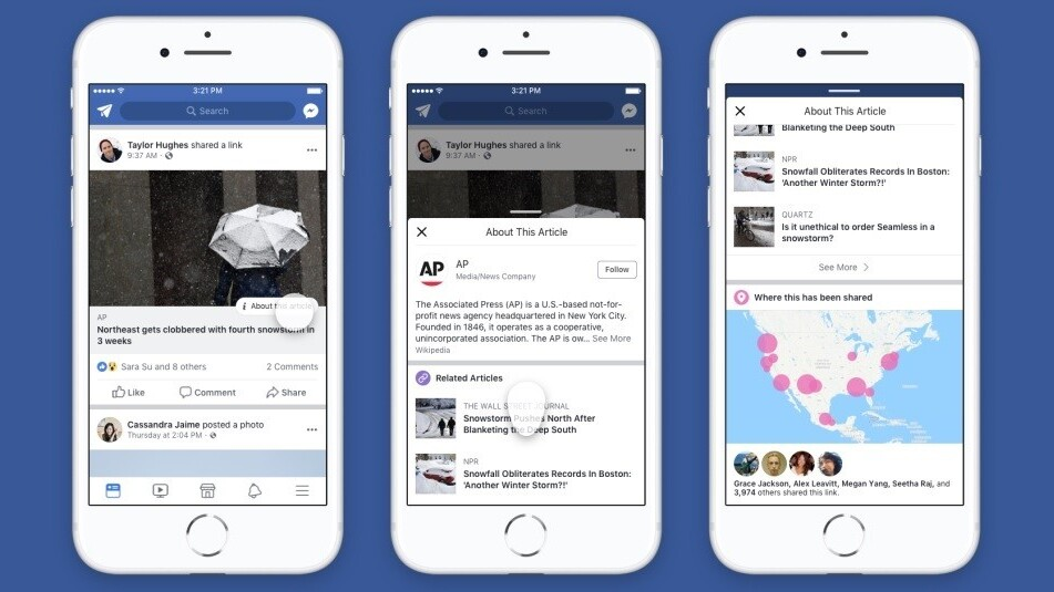Facebook update shows which of your friends are suckers for fake news