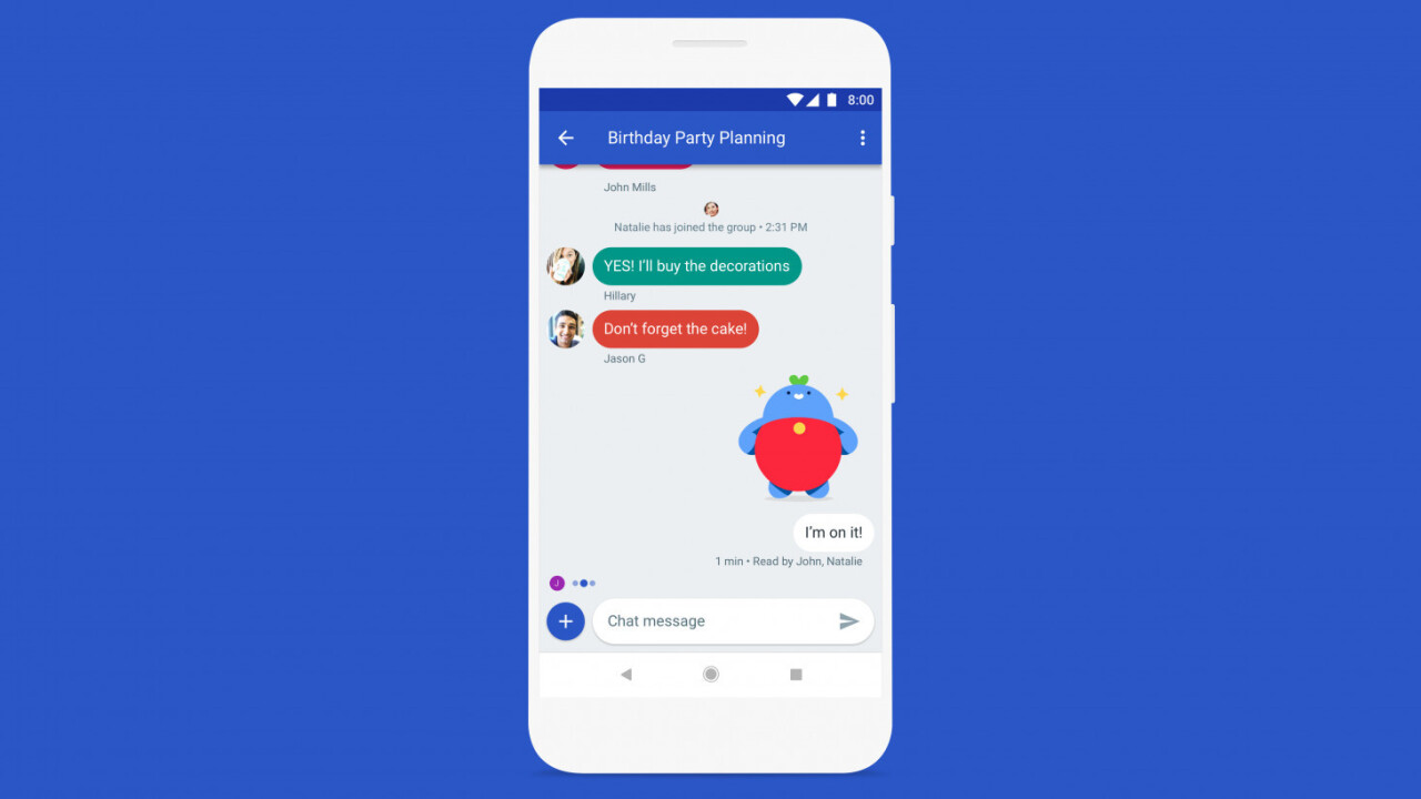 Google is supercharging SMS on Android with an iMessage-like experience