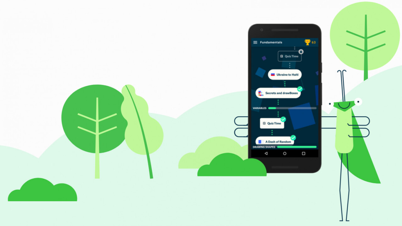 Google employees want to teach you to code for free with their cute new app