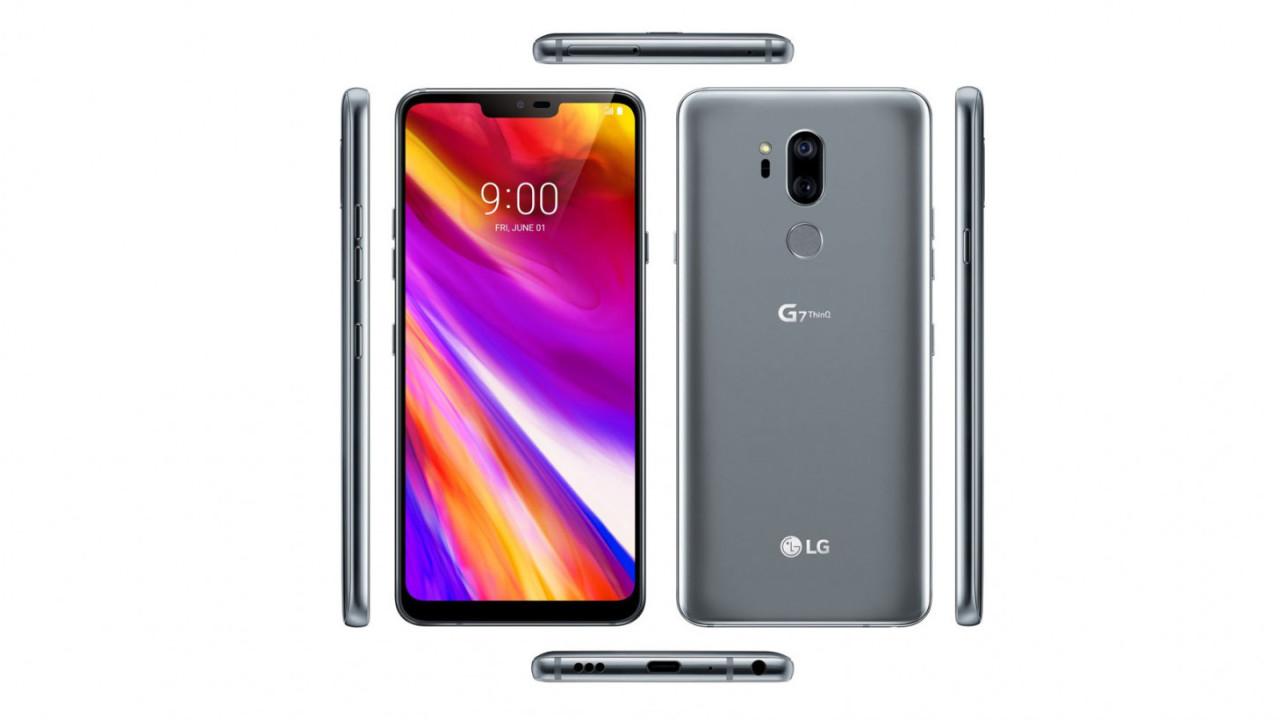 LG G7 leak shows off phone in full glory