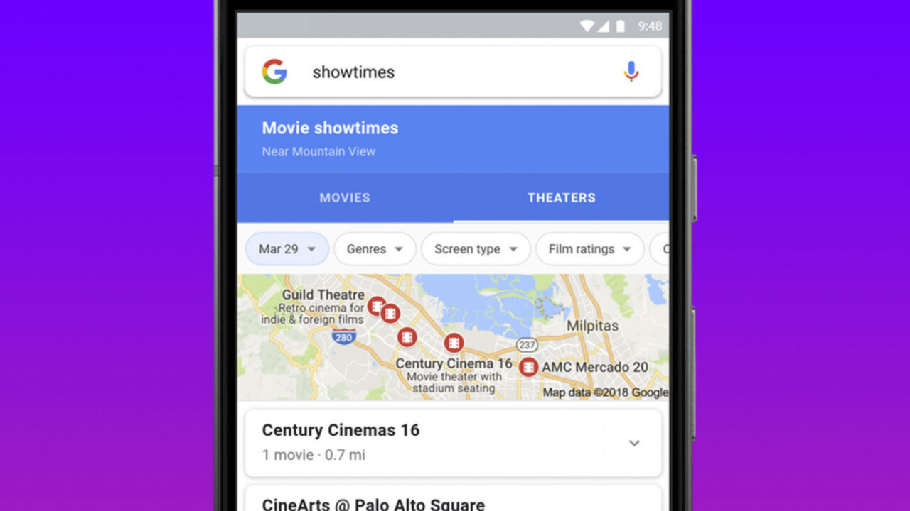 Google Search just made it easier to pick a movie to watch