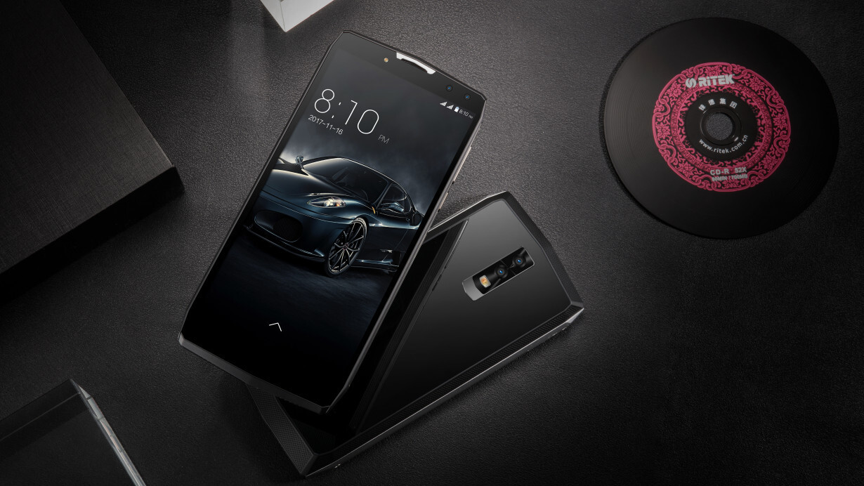 This bonkers Chinese phone holds as much juice as the average laptop
