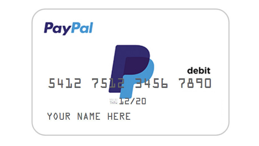 PayPal wants to give you a debit and ATM card