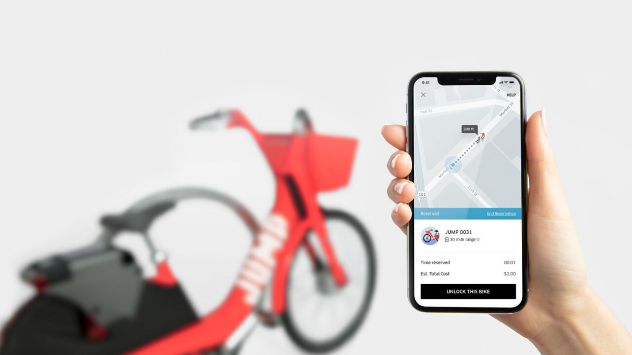 Uber gets into the bike-sharing game with its latest acquisition