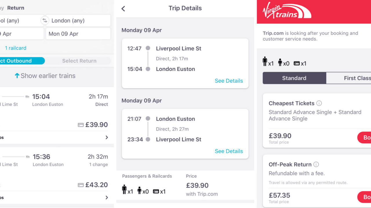 Skyscanner now lets you book train tickets in the UK