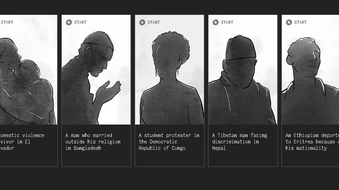 ProPublica designed a game to simulate the existential despair of the asylum process