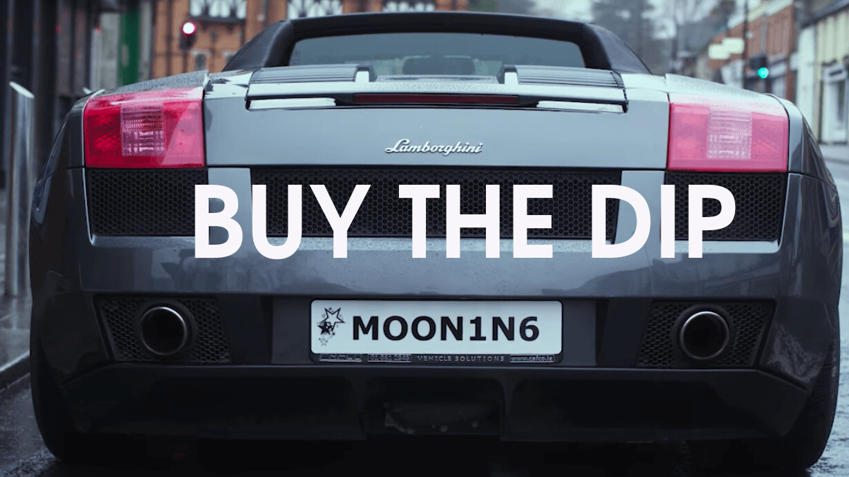 'Buy the Dip' is like 'Silicon Valley' for crypto nerds – but funnier