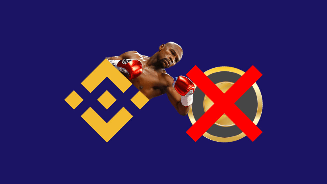 Binance delists Mayweather-shilled cryptocurrency Centra Token (CTR)