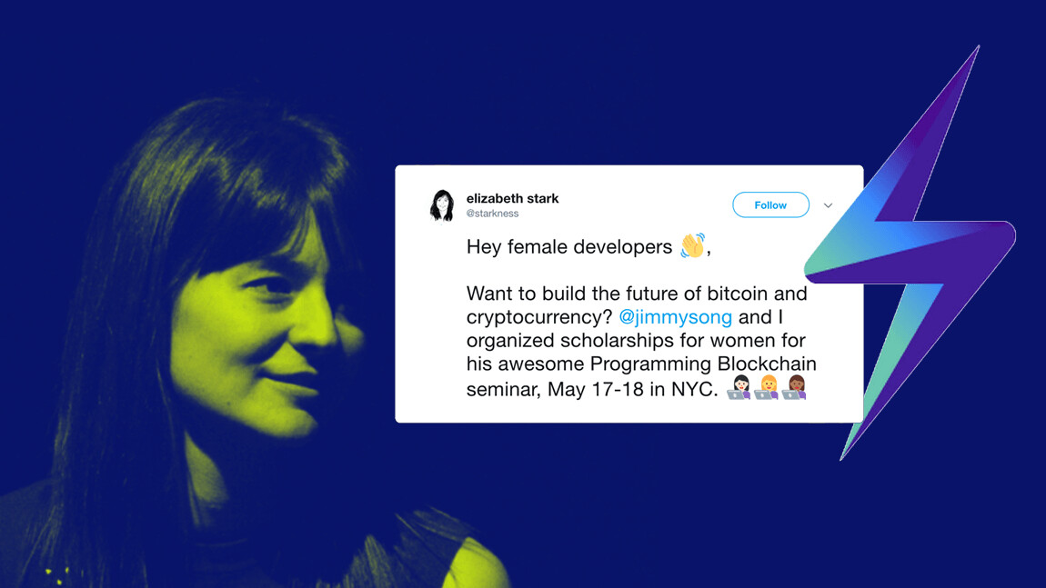 Lightning Labs CEO is giving scholarships to female blockchain developers