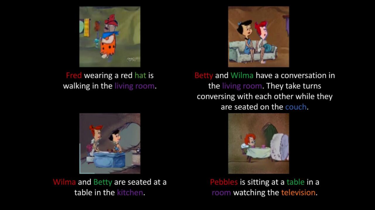 Researchers trained an AI to create Flintstones cartoons