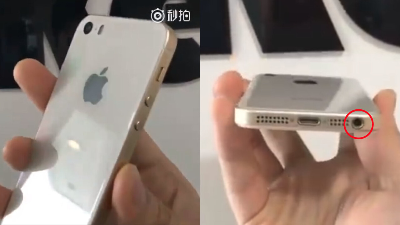 Sketchy leak suggests Apple will keep the headphone jack on the iPhone SE 2