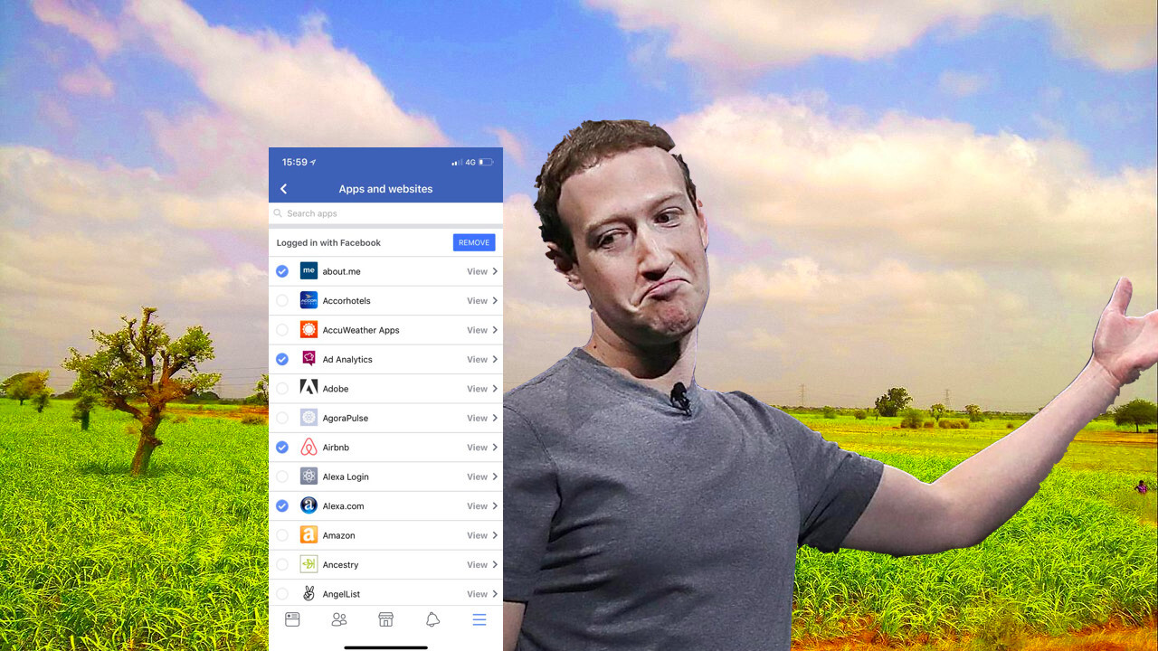 Facebook now lets you bulk-remove apps from your account